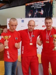 Krystian, coach Grzesiek, Tomek